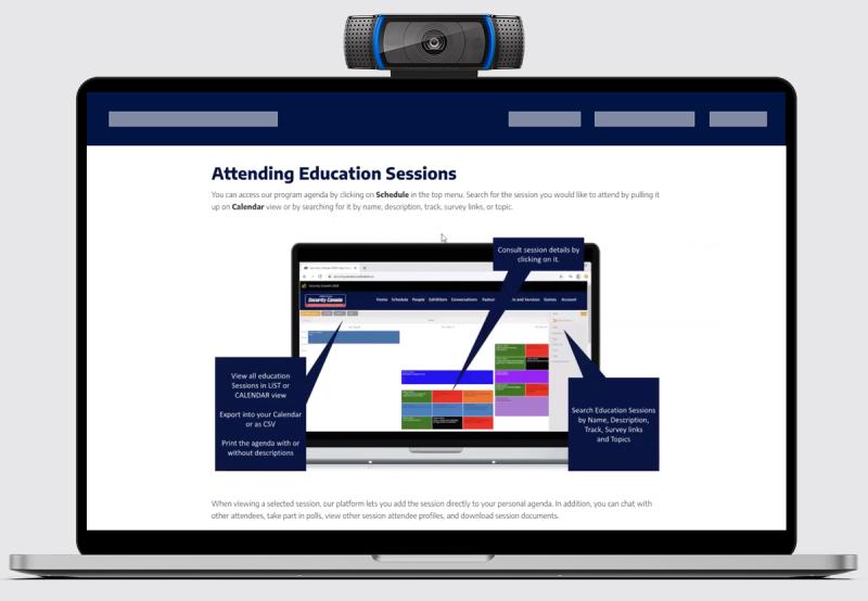 Navigating Our Virtual Platform